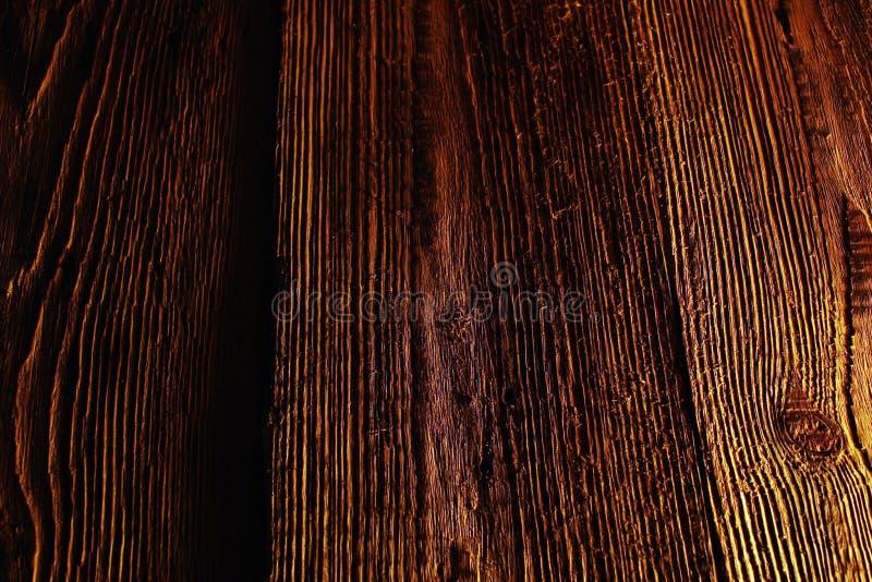 Vieux fond en bois de texture de modèle de Brown images stock