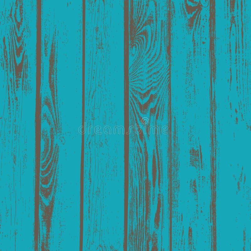 Vieux fond en bois de texture de vecteur de planches de grain illustration stock
