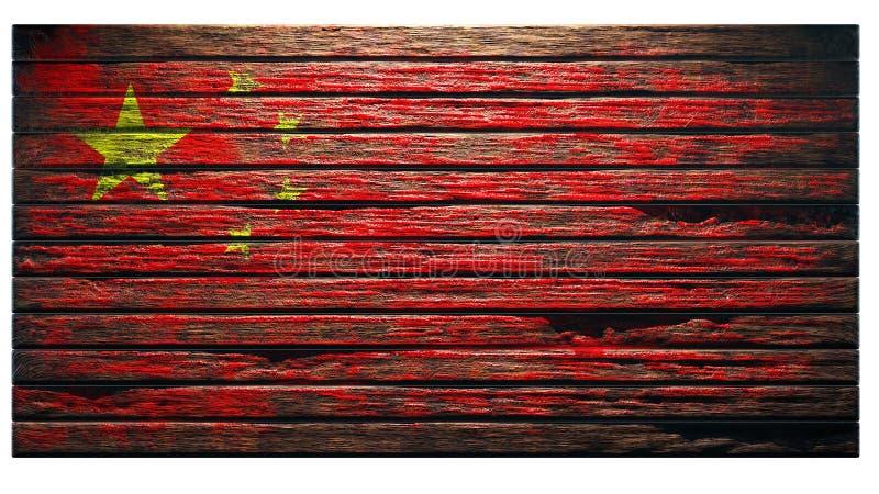 Vieux fond en bois de texture illustration libre de droits