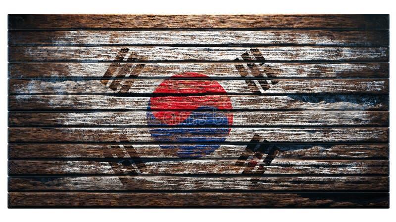 Vieux fond en bois de texture illustration de vecteur