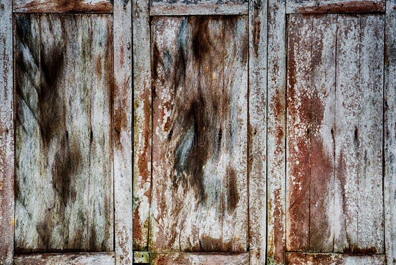 Vieux fond en bois de texture de fenêtre photos libres de droits