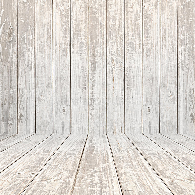 Vieux fond en bois fané de pièce photos libres de droits