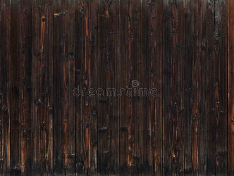 Vieux fond en bois foncé de texture photo stock
