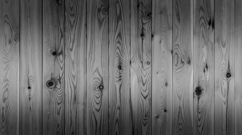 Vieux fond en bois noir et blanc de texture de planche Texture de modèle de conseil en bois Surface naturelle de bois de construc photos libres de droits