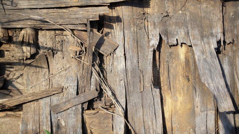Vieux fond en bois Texture en bois image stock