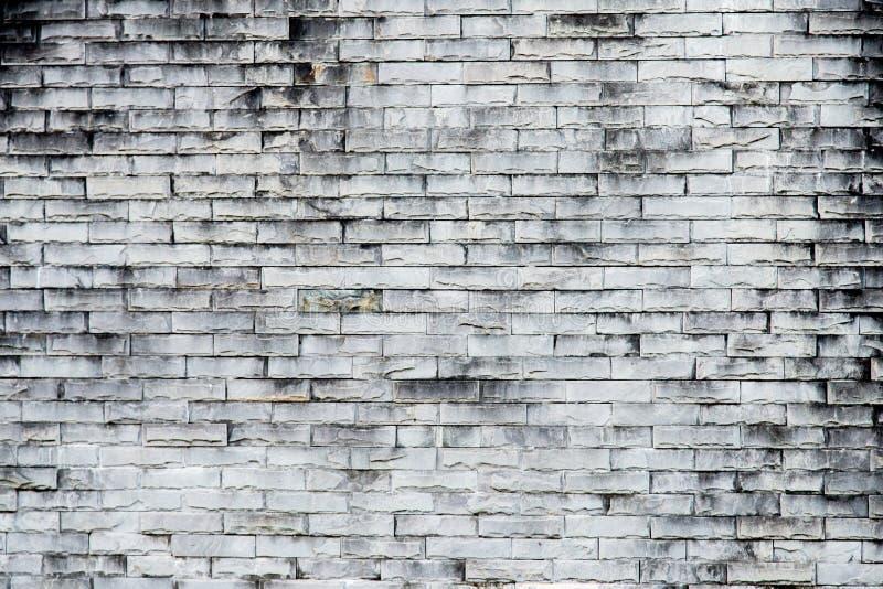Vieux fond gris de texture de mur de briques Mur de briques rugueux Backgro images stock