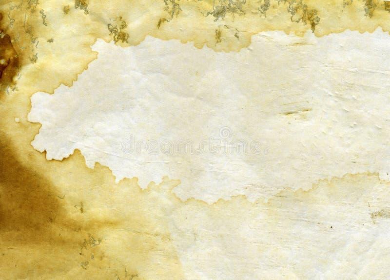 Vieux fond grunge de texture de coffre de thé photos libres de droits