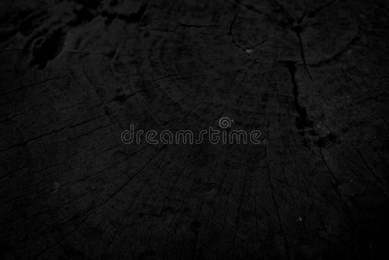 Vieux fond noir en bois images stock