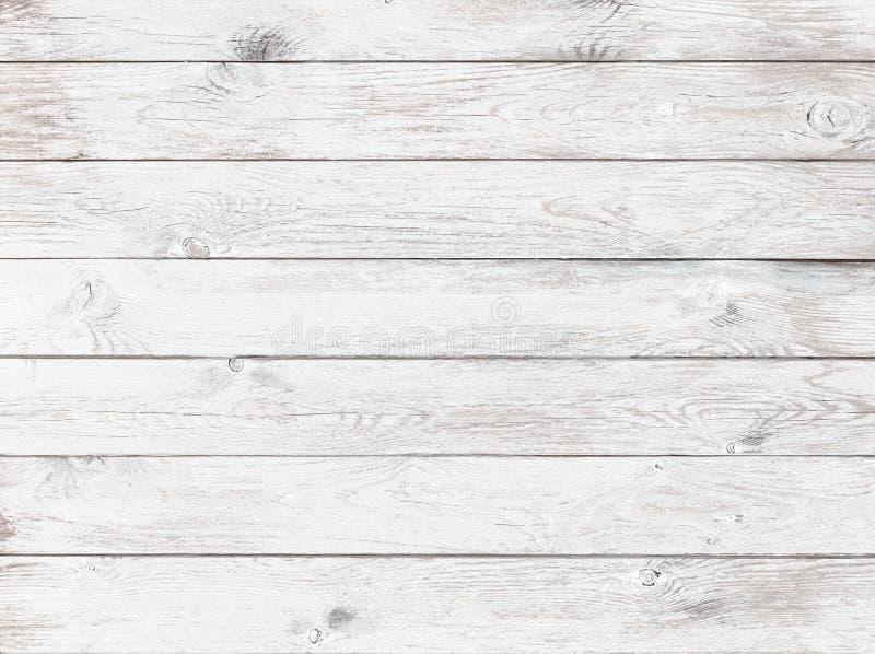 Vieux fond ou texture en bois blanc image libre de droits