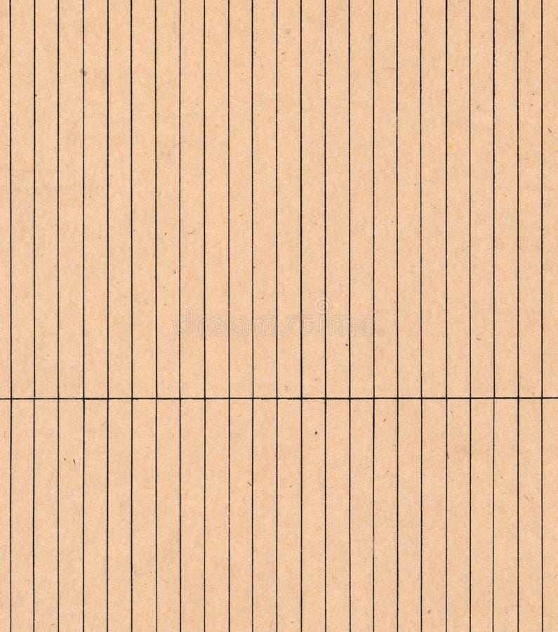 Vieux fond rayé de carte de papier photo stock
