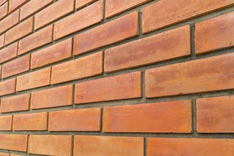 Vieux fond rouge-brun de grunge de texture de mur de briques photos stock