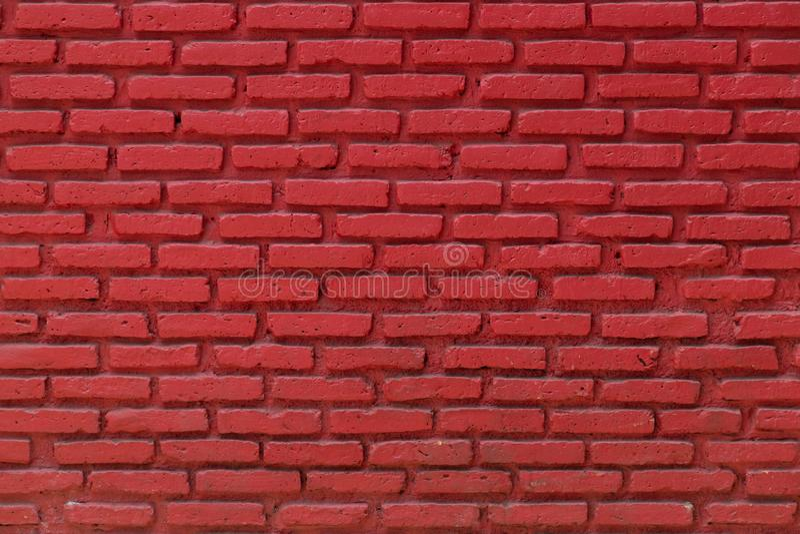 Vieux fond rouge de mur de briques photo libre de droits