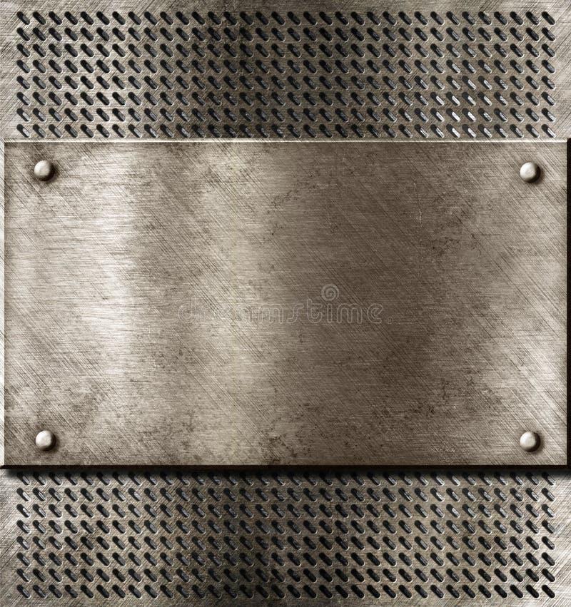 Vieux fond rouillé grunge en métal photos stock