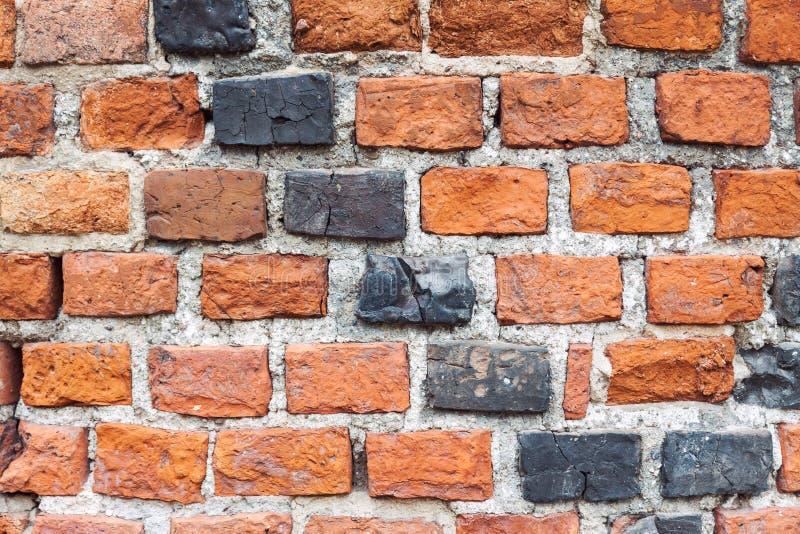 Vieux fond sale de mur de briques image stock