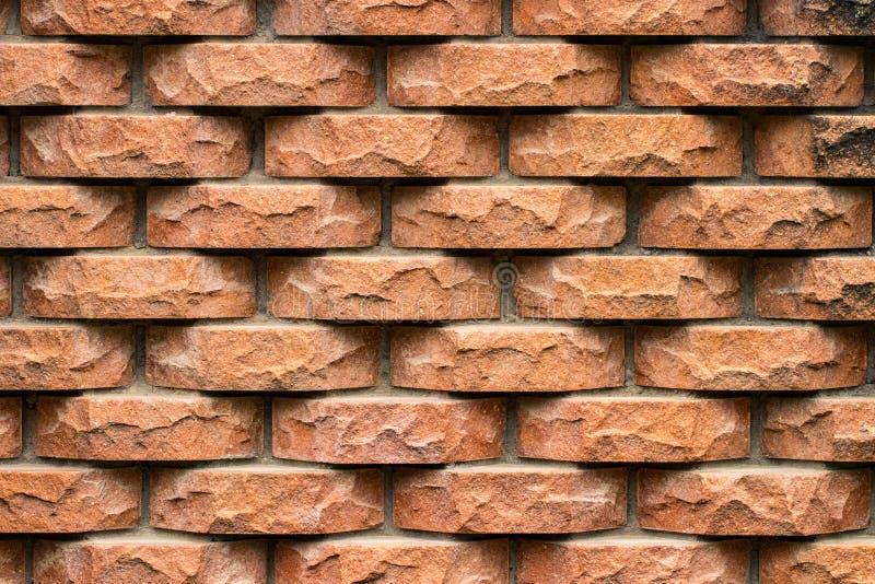 Vieux fond souillé superficiel par les agents de mur de briques Plan rapproché images libres de droits