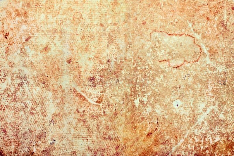 Vieux fond texturisé de papier rayé image stock