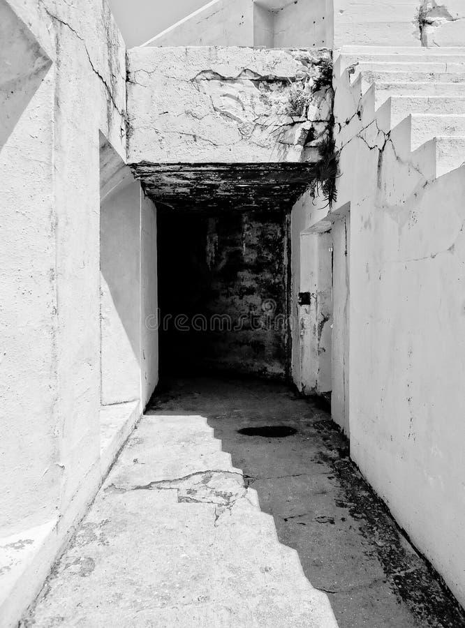 Vieux fort concret photos libres de droits