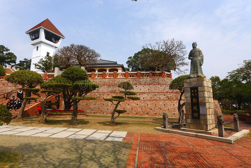 Vieux fort d'Anping à Taïwan images libres de droits