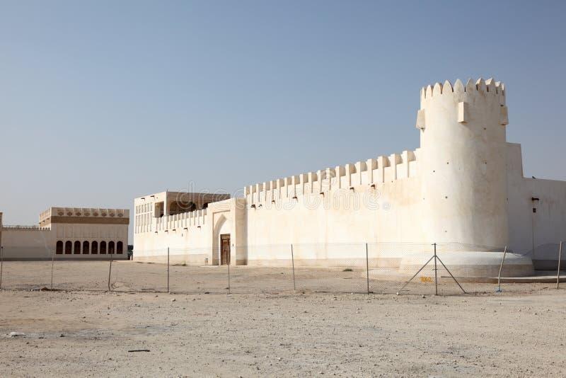 Vieux fort dans Doha, Qatar photos libres de droits