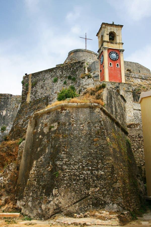 Vieux fort de Corfou photos libres de droits