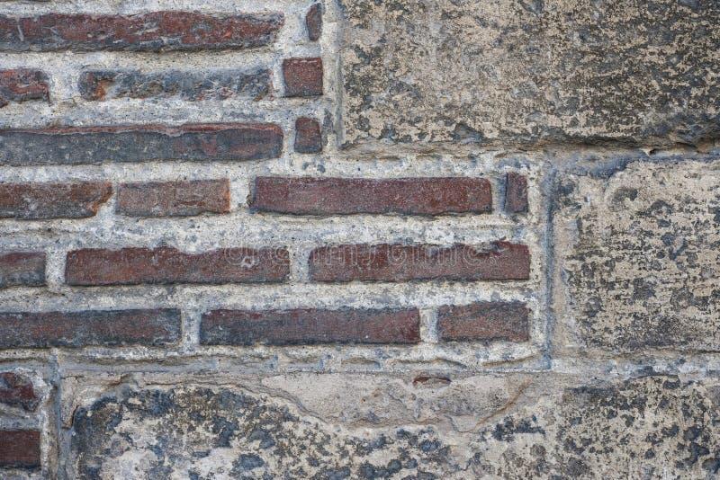 Vieux fragment de mur image libre de droits