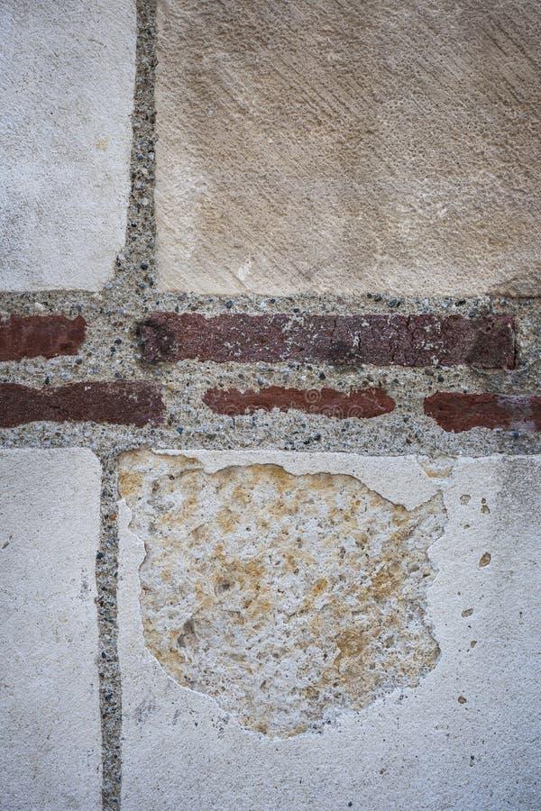 Vieux fragment de mur photo stock