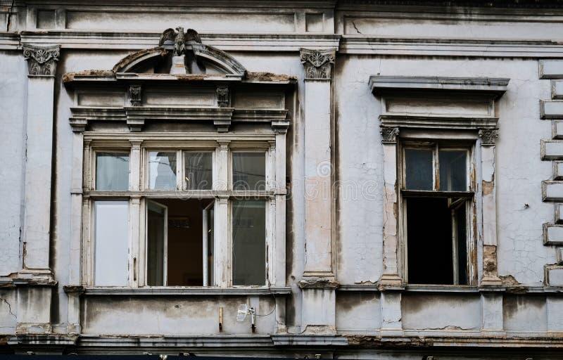 Vieux Grey House, ville de Belgrade, Serbie images stock