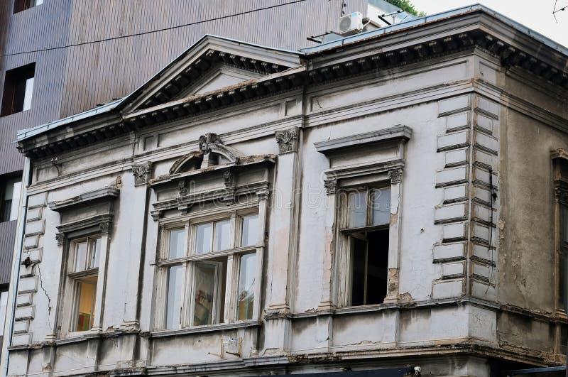 Vieux Grey House, ville de Belgrade, Serbie photographie stock