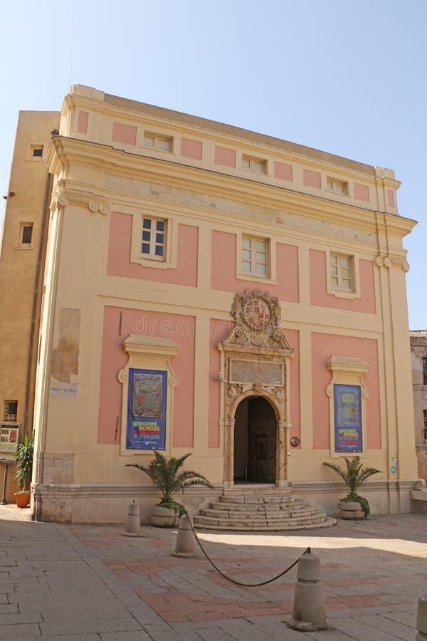 Vieux hôtel de ville Caligari photographie stock