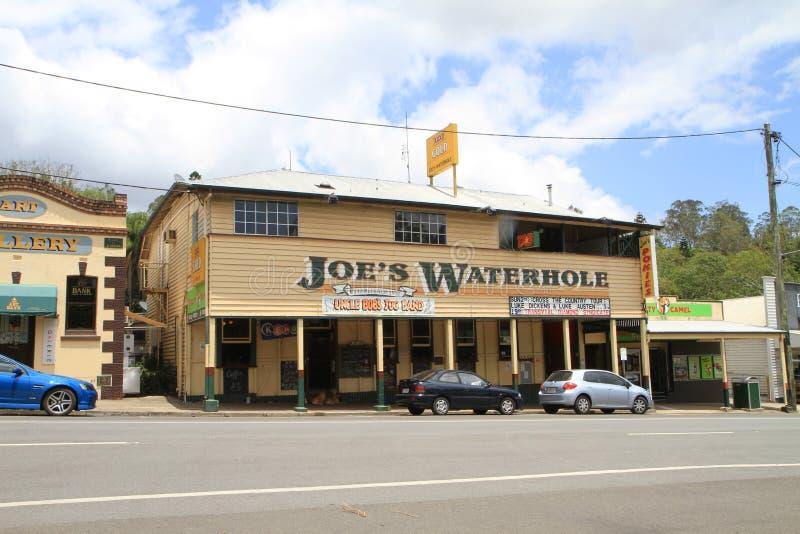 Vieux hôtel et pub australiens photos libres de droits
