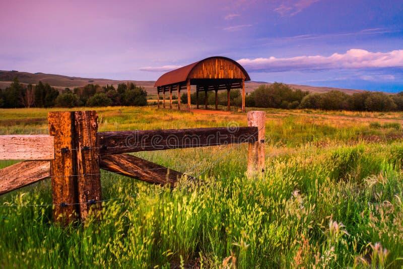 Vieux Hay Barn photo stock