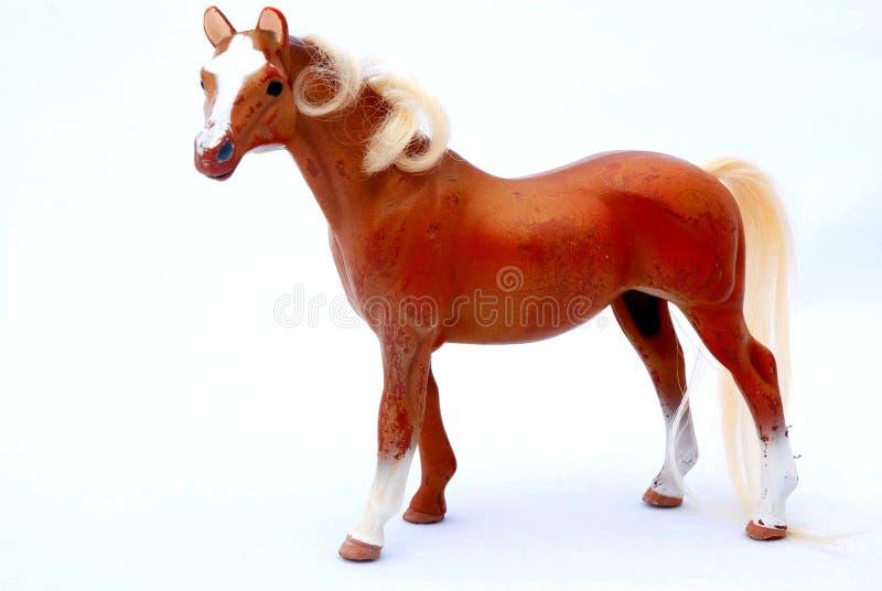 Vieux jouet de cheval photographie stock