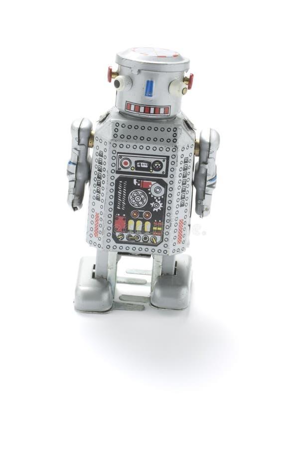Vieux jouet de robot photographie stock libre de droits
