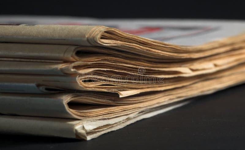 Vieux journal photo stock