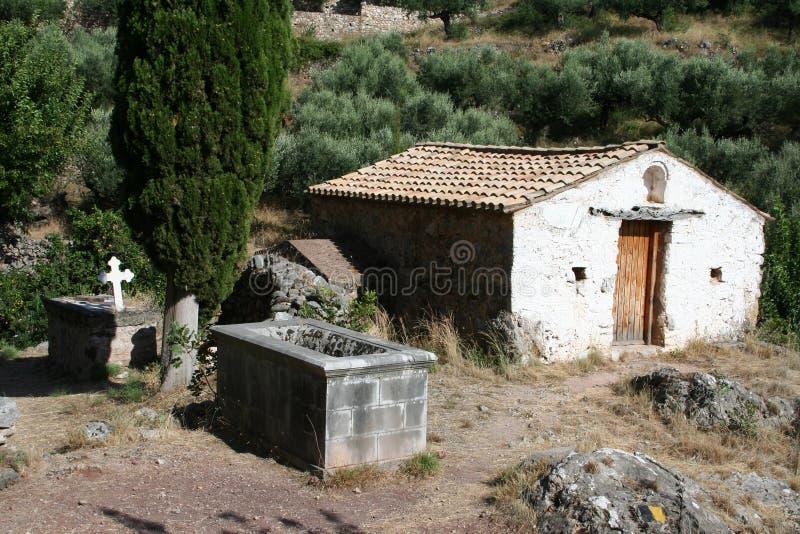 Vieux Kardamili Grèce photographie stock libre de droits