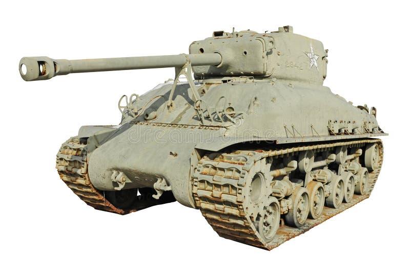 Vieux l'armée américaine tank-T26 photographie stock