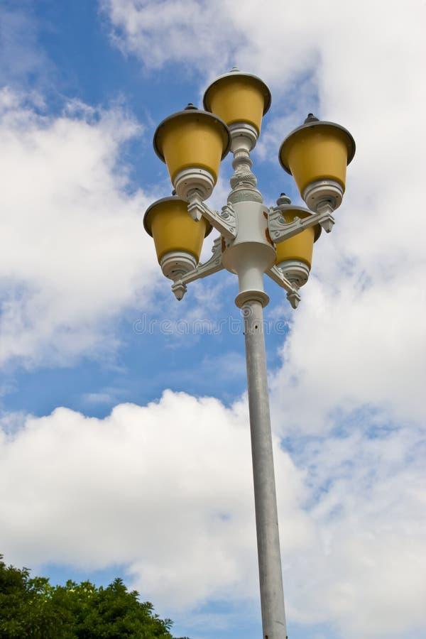 Vieux lampadaire de rue images stock
