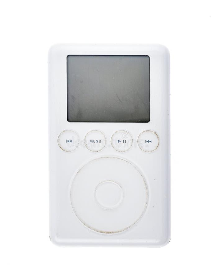 Vieux lecteur mp3 2003 de la génération 15Gb de classique 3ème d'Apple iPod photographie stock libre de droits