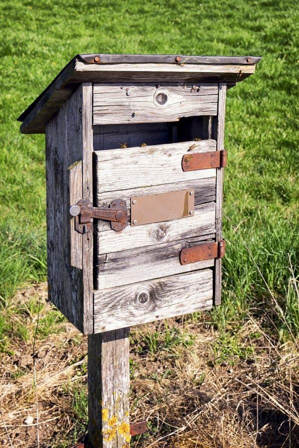Vieux Letterbox images stock