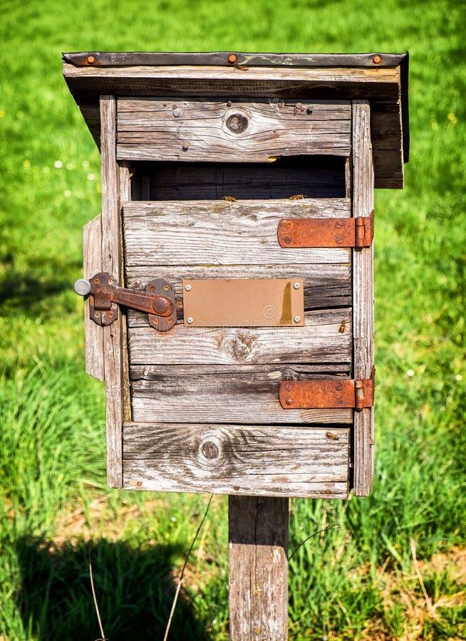 Vieux Letterbox image stock