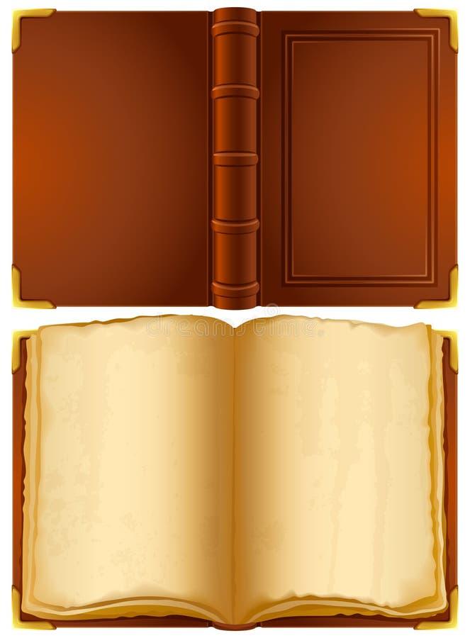 Vieux livre illustration libre de droits
