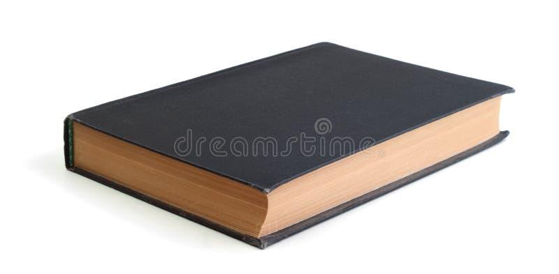 Vieux livre d'isolement photo stock