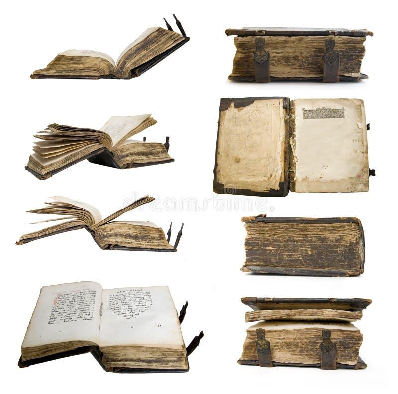 Vieux livre médiéval, psalter photo stock