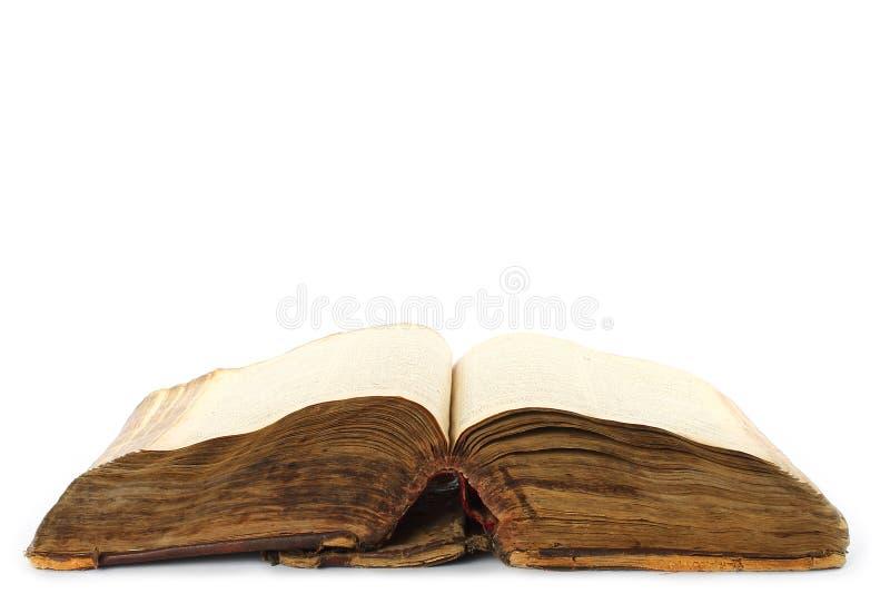 Vieux livre ouvert photo libre de droits