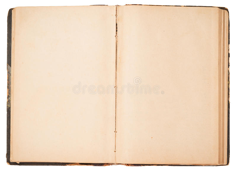 Vieux livre ouvert photos libres de droits
