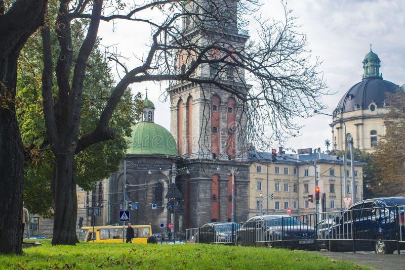 Vieux Lviv image stock