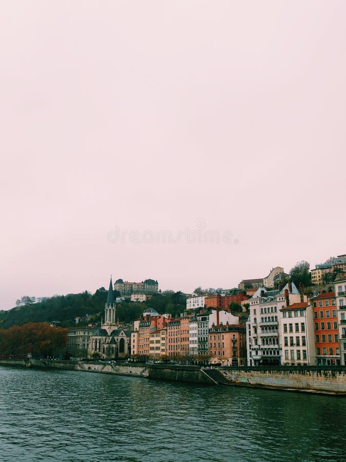 Vieux Lyon fotografering för bildbyråer