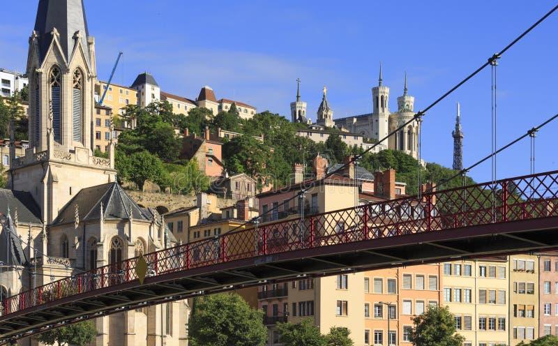Vieux-Lyon image libre de droits