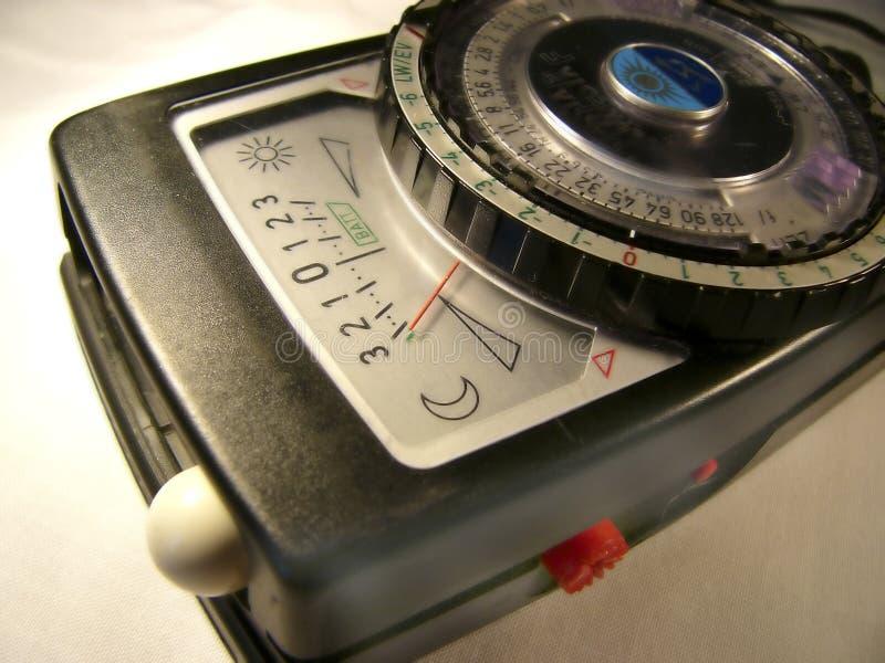 Vieux Mètre Léger Photographie stock libre de droits