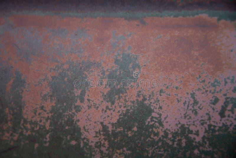 Vieux métal avec la patine pour le fond ou la texture images libres de droits
